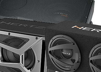 hertz subwoofer enclosures