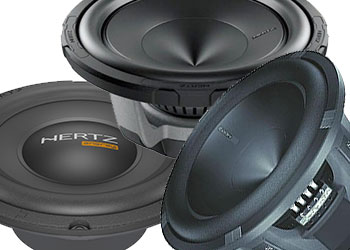 Hertz car subwoofers